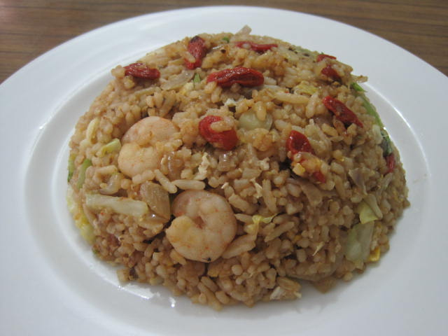 Delicious And Simple Oriental Fried Rice With Wolfberry Shrimp YummyYummy For A Lunch Or Dinner Easy Meals 1 2 Persons
